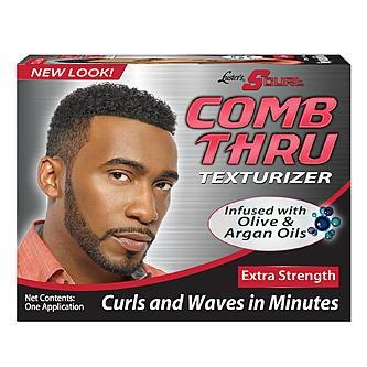 Luster's S Curl Comb Thru Extra Strength Texturizer 2 Applications