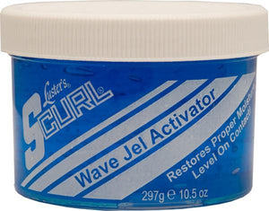 S-Curl Wave Gel Activator Gel 10.5 oz - Barber Products