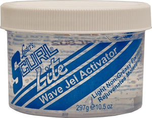 S-Curl Wave Gel Activator Jar Lite 10.5 oz - Barber Products