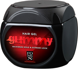 Gummy Hair Gel Maximum Hold & Extreme Look 500 ml - Barber Products