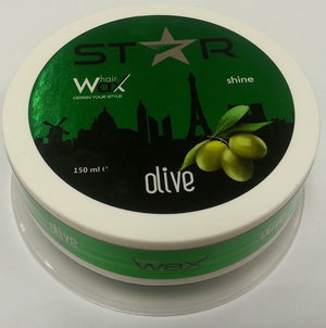 Star Hairwax Olive Shine 150 ml - Barber Products