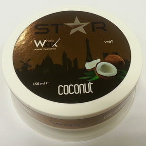 Star Hairwax Coconut  Wet 150 ml - Barber Products