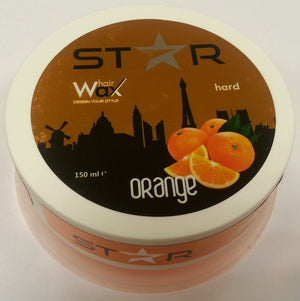 Star Hairwax Orange Hard 150 ml - Barber Products