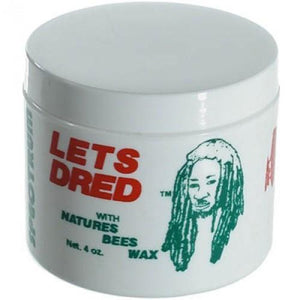 Lets Dred Bees Wax 4oz - Barber Products