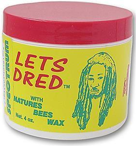 LETS DRED NATURES NATURAL BEESWAX - Barber Products