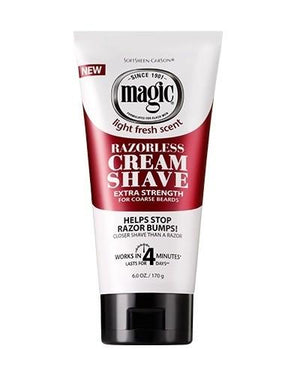 Magic Razorless Cream Shave Extra Strength 170 g - Barber Products