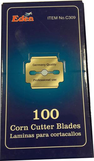 Eden Corn Cutter Blades 100 pcs - Barber Products