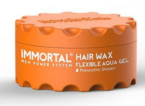 Immortal Hairwax Flexible Aqua Gel 150 ml - Barber Products