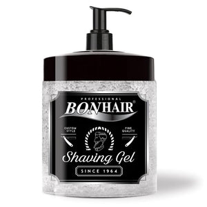 BONHAIR PROFESSIONAL SHAVING GEL 1000 ml - Barber Products