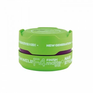 Newwell F4 Finish Matte Wax 150 ml - Barber Products