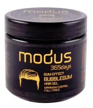 Modus Gum Effect Bubble Gum Maximum Control Full Force Hair Gel 750 ml - Barber Products