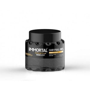 Immortal Hair Full Gel Dynamic Range Maximum Control High Shine Strong Gel 700 ml - Barber Products