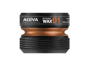 Agiva Styling Wax 01 Wet and Islak 175 ml - Barber Products