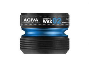 Agiva Styling Wax 02 Strong and Sert 175 ml - Barber Products