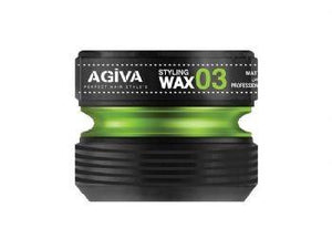 Agiva Styling Wax 03 Matte Look 175 ml - Barber Products