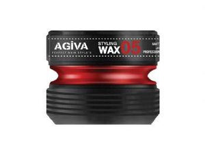 Agiva Styling Wax 05 Gummy Wax 175 ml - Barber Products