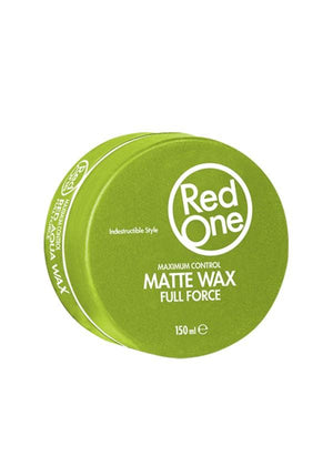 Red One Matte Wax Full Force Green 150 ml - Barber Products