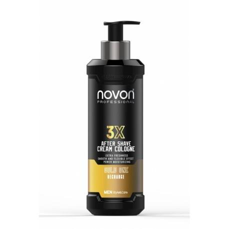 Novon Professional 3X Aftershave Cream Cologne Gold One 400 ml