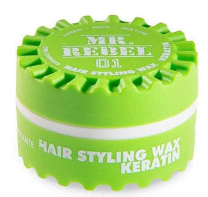Mr. Rebel 01 Hair Styling Wax Keratin 150 ml - Barber Products