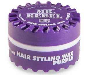 Mr. Rebel 05 Hair Styling Wax Purple 150 ml - Barber Products