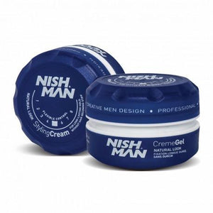 Nish Man Creme Gel Natural Look 150 ml - Barber Products