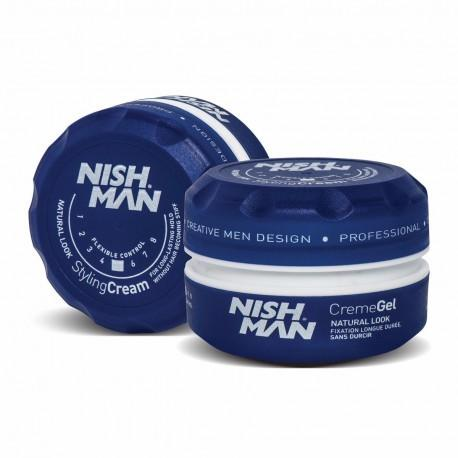 Nish Man Creme Gel Natural Look 150 ml