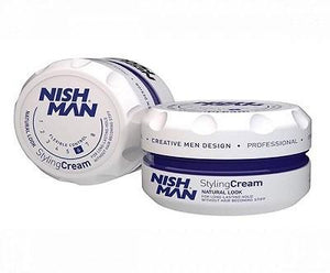 Nishman Natural Look Styling Cream 150 ml - Barber Products