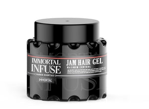 Immortal Infuse Jam Hair Gel Maximum Hold 700 ml - Barber Products