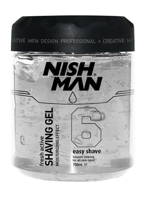 Nishman Shaving Gel Easy Shave 750ml - Barber Products