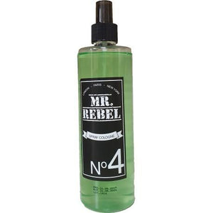 Mr Rebel Spray Cologne No 4 400 ml - Barber Products