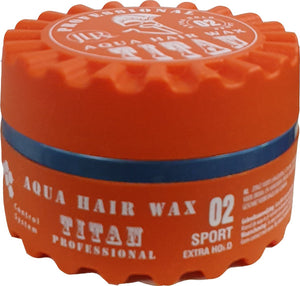 Titan Aqua Hairwax  02 Sport Extra Hold 150 ml - Barber Products
