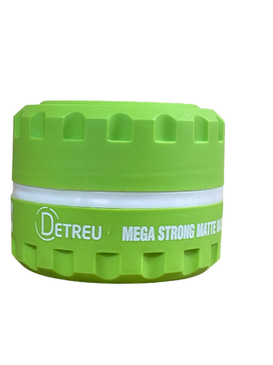 Detreu Mega Strong Styling Wax Green 150 ml - Barber Products
