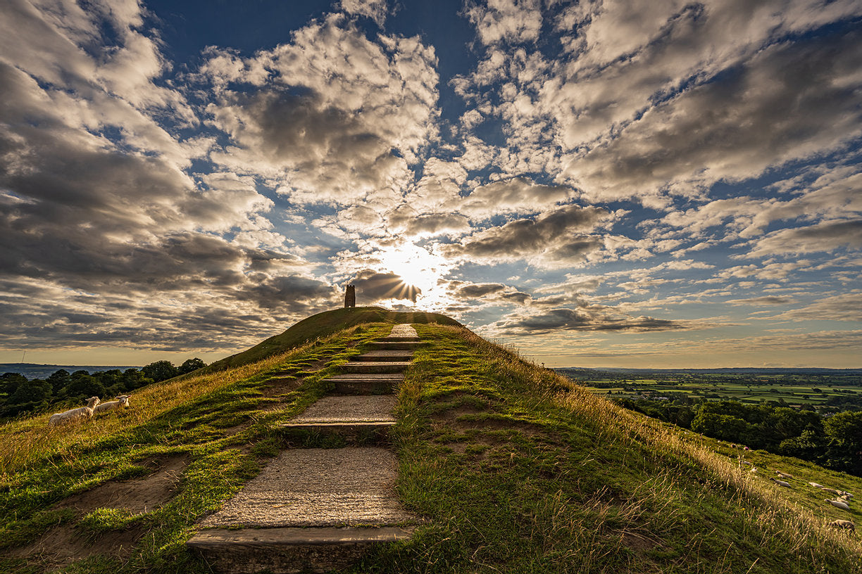 Glastonbury Tor Greetings Cards (3) Collection 4