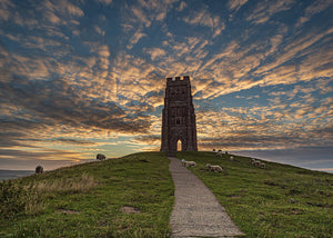 Glastonbury Tor Canvas ~ Pearly Tower