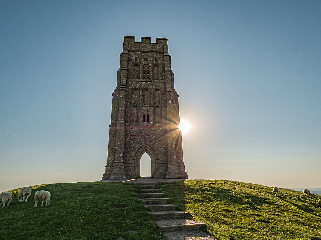 Glastonbury Tor Canvas ~ Tower of Strength