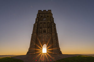 Glastonbury Tor Greetings Cards (3) Collection 1
