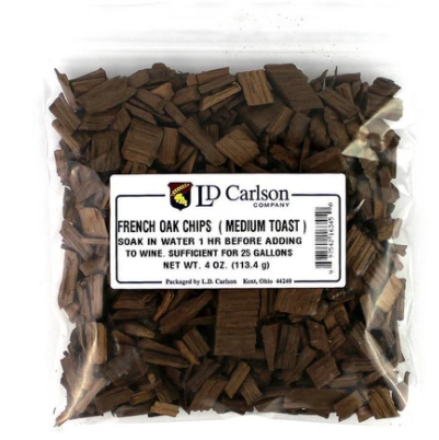 FRENCH OAK CHIPS (MEDIUM TOAST) - 4 OZ