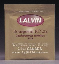 RC-212 LALVIN ACTIVE FREEZE- DRIED WINE YEAST