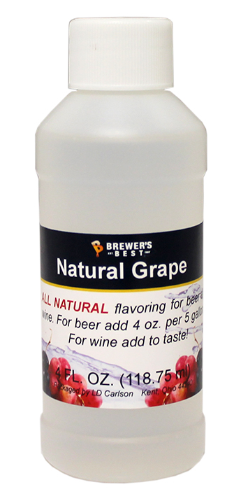 GRAPE FLAVORING - NATURAL - 4 OZ