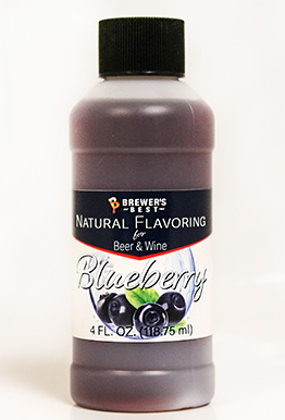 BLUEBERRY FLAVORING - NATURAL - 4 OZ