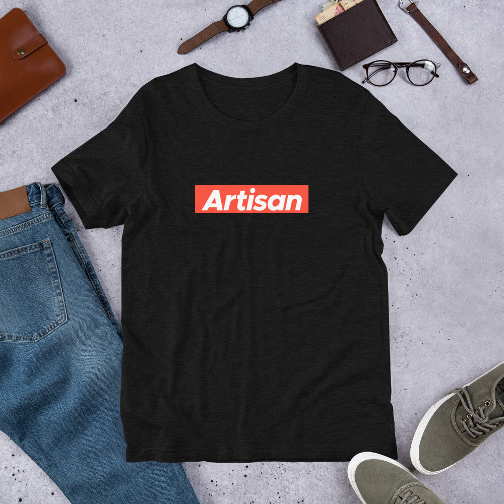 Artisan Premium Unisex T-Shirt for Laravel Developers