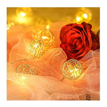 Load image into Gallery viewer, Metal Ball String Light (Gold, 3 Meters)