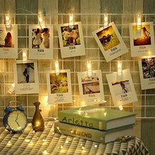 Load image into Gallery viewer, Photo Clip String Light (Warm White, 2 Meters)