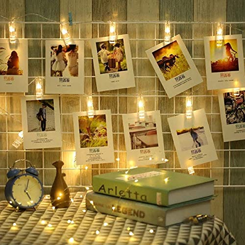 Photo Clip String Light (Warm White, 2 Meters)