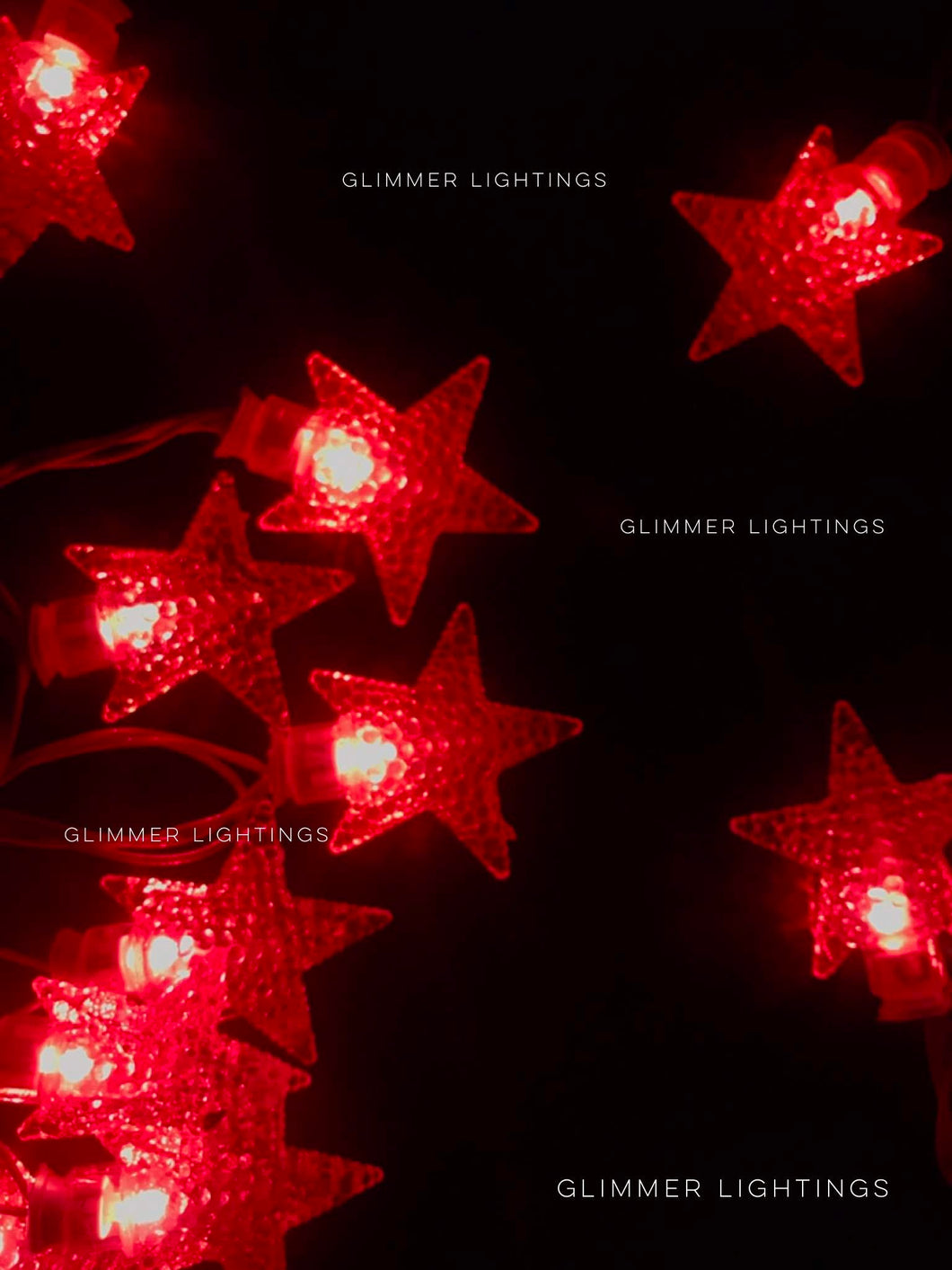 Crystal Star String Light ( 4 Meters)