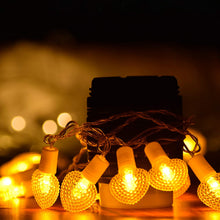 Load image into Gallery viewer, 20 Bulbs String Light USB Powered (Warm White, 10 Foot)