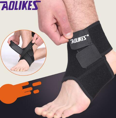 Aolikes 1PCS Ankle Protector Sports Ankle Support Elastic Ankle Brace Guard Foot Support Sports Gear Gym