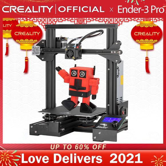 CREALITY 3D Ender-3 Pro Printer Printing Masks Magnetic Build Plate Resume Power Failure Printing KIT Mean Well Power Supply