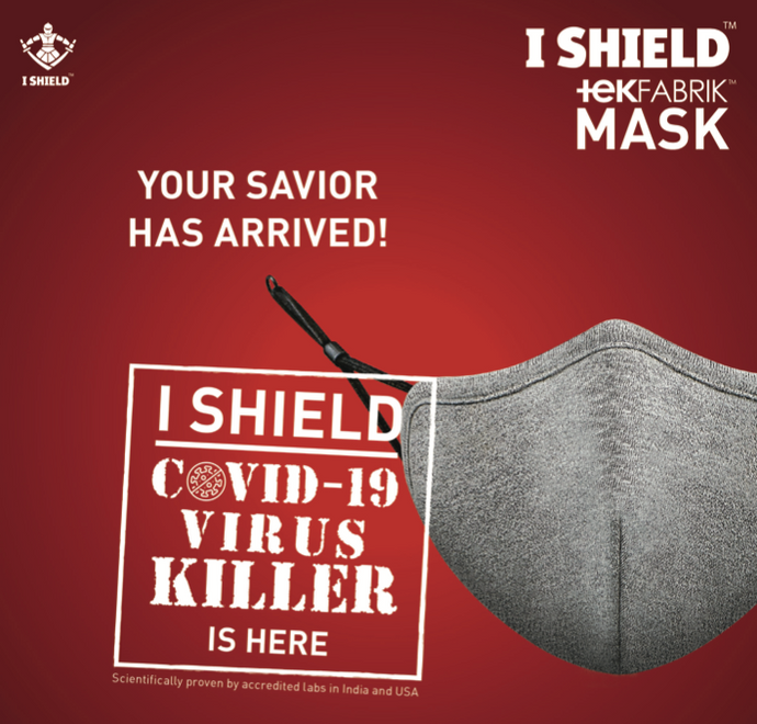 Reusable face mask - ishield