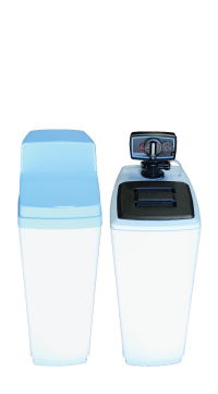 Cabinet Water Softener with Time Clock Fleck Valve